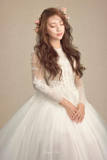 Ginger Chen Wedding 手工訂製婚紗