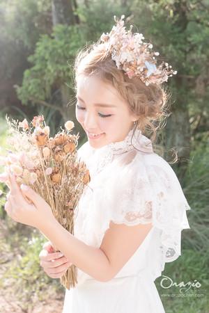新秘Vicky Li ★婚紗創作造型