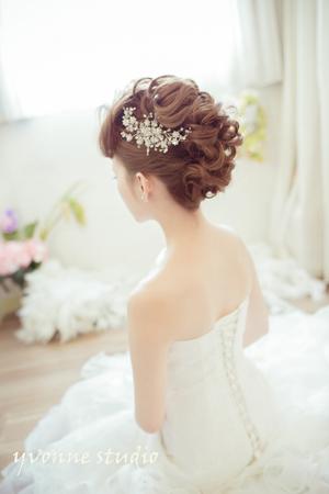 空气感造型 - 新娘秘书 招利老师 - weddingday 我的