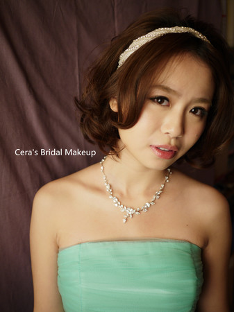 brides/ 中长发女孩(耳下~锁骨长度)