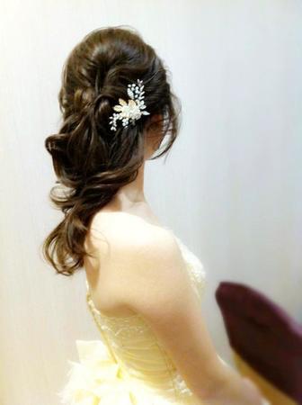 _Rita C. 婚禮造型 : 浪漫甜美