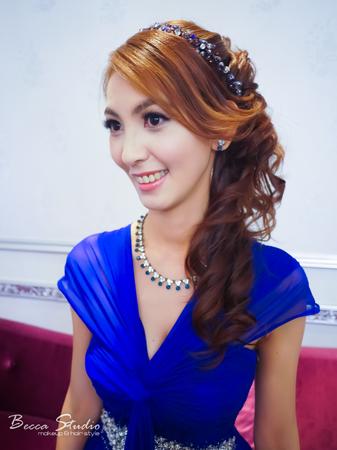 ❤️Becca Studio新娘造型❤️編髮盤髮.浪漫側梳.甜美花冠