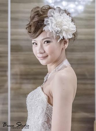 ❤️Becca Studio新娘造型❤️甜美龐克.俏麗赫本