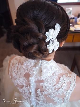 ❤️Becca Studio新娘造型❤️編髮造型變化