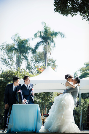 【迎娶婚宴。高雄白屋婚禮】