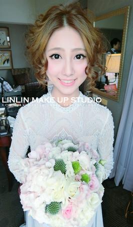 #新娘髮型# ♥ 佩兒婚宴