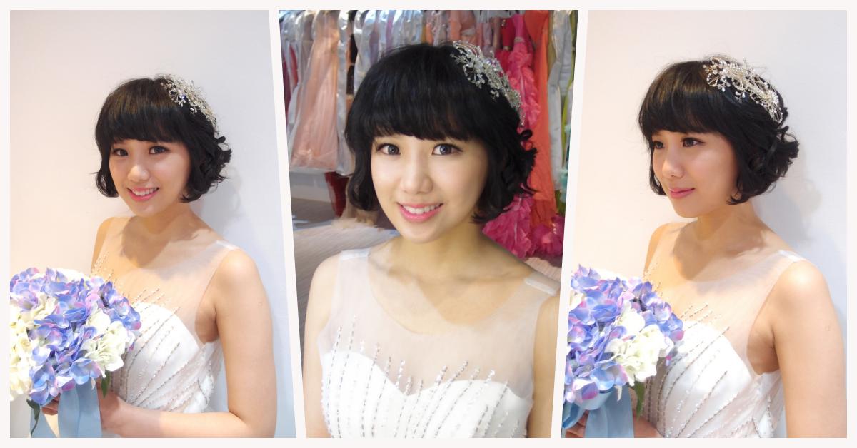 [部落格]短髮新娘必看!五大短髮造型推薦