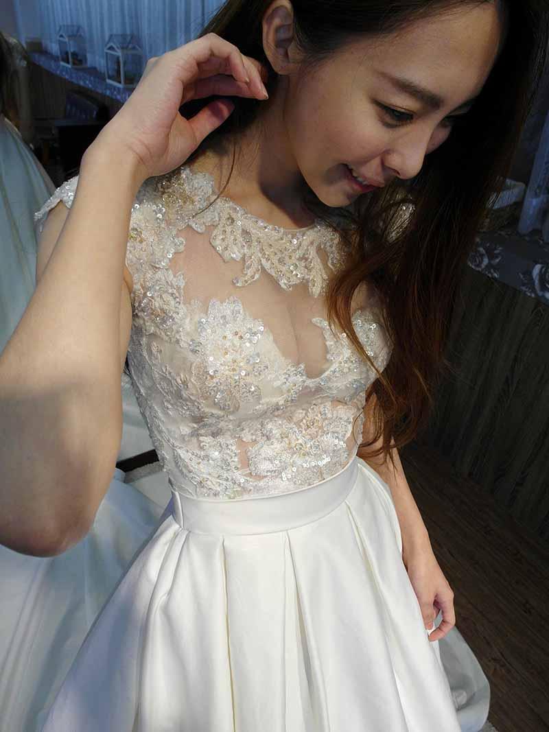 小花試穿 試穿文 Lei's Wedding Dress 蕾