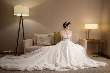 漂亮的新娘房必拍