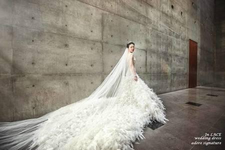 拍婚紗首選~拖尾款