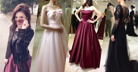 萬中選一的「女王婚紗」