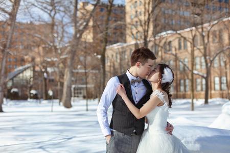 令人無法忘懷的北海道婚紗~