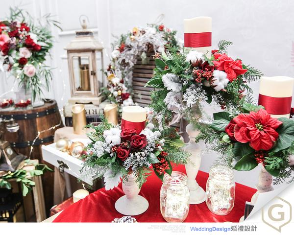 聖誕風婚禮-GUDY Wedding
