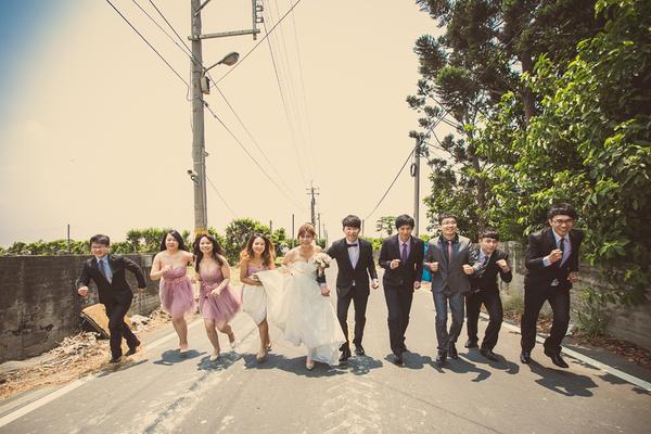 超爆笑的婚禮闖關遊戲!