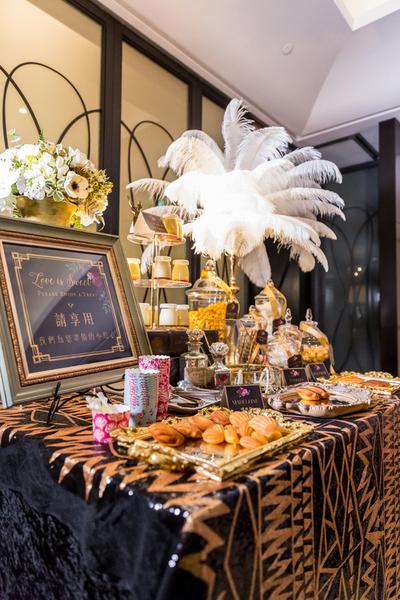 訂婚家宴也能夠佈置的很完美!!