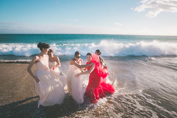 比結婚照更想拍的姊妹淘婚紗照~