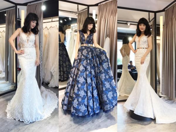 超完美婚紗禮服❤️