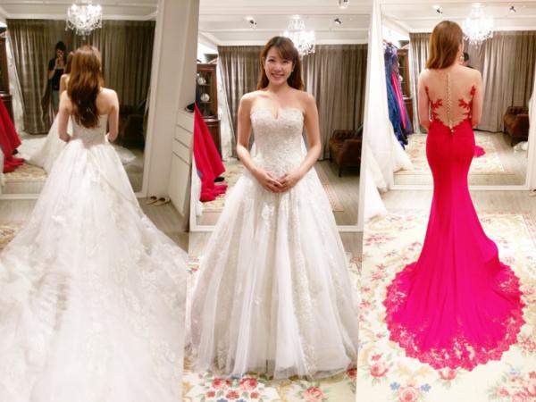 超完美命定婚紗,好險沒錯過!
