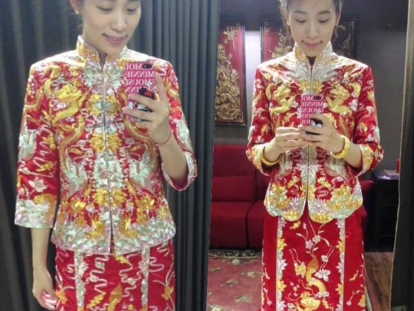 我的華麗嫁衣,『御囍龍鳳褂』!