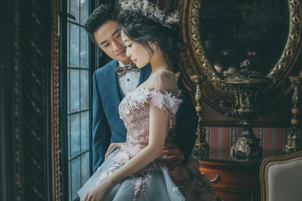 終於找到心目中無法超越的浪漫婚紗