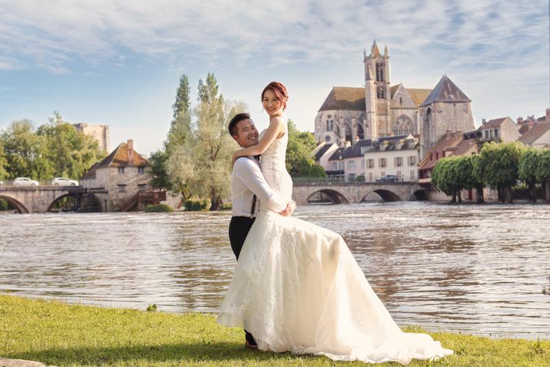 Milk海外婚紗.夢想中的巴黎婚紗照