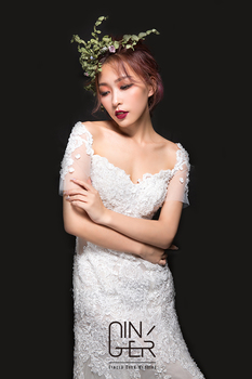 Ginger Chen Wedding 手工訂製婚紗