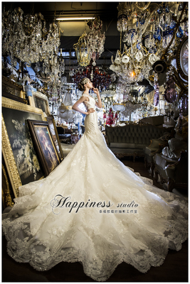 幸福感婚紗手工禮服Happiness wedding婚紗禮服