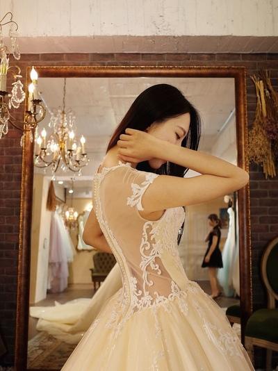 蕾亞法式手工婚紗