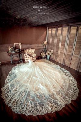 第九大道英式手工婚紗婚紗禮服