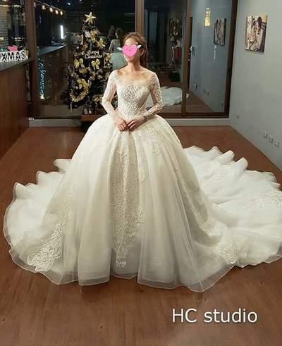 HCstudio手工婚紗婚紗禮服
