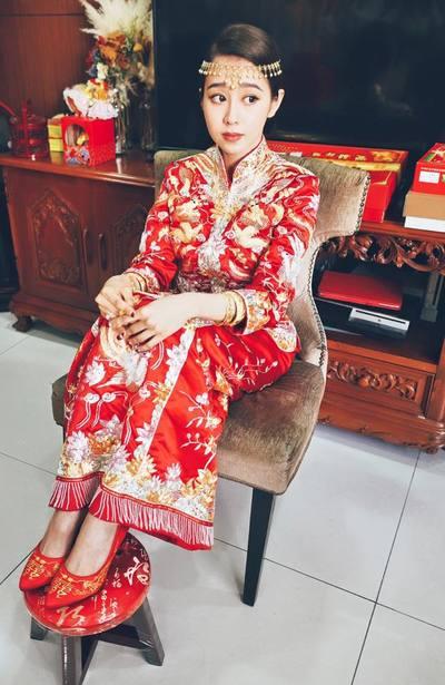 御囍龍鳳褂婚紗禮服