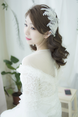 ♥️Cindy 老師♥️ 白紗造型