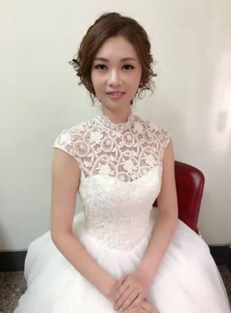 造型師Jasmine~婚宴造型-白紗