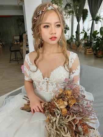 公主頭編髮❤️清新森林系