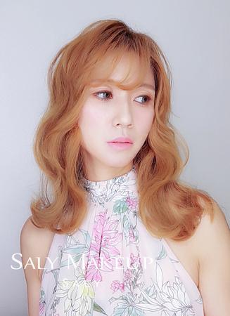 新娘長髮造型~新秘Saly