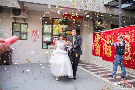 2015-1-17 兆峰 & 怡芬 婚禮紀錄 婚攝 - 台南 鹽水 自宅