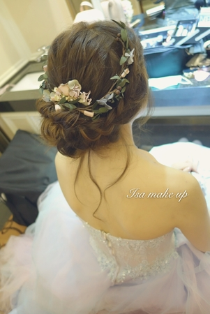 Isa婚禮造型~