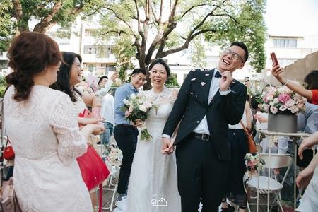 2018.6.3  台南帕莎蒂娜臺南市長官邸證婚+晚宴(度比)