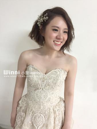 Abby-短髮韓系訂婚造型