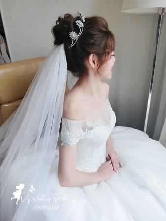 仙女盤髮+氣質皇冠11/11虹穎