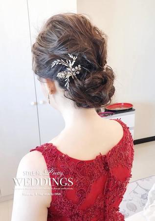 大家都喜愛的『好媳婦妝容』。 Make up & Hair style / #diva Chang
