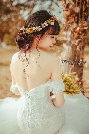 [ 新秘采紋 ] - 花花造型