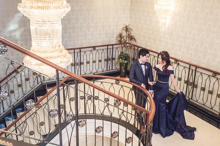 奔跑少年婚禮紀錄 / 平面攝影 / 台南富霖宴會館
