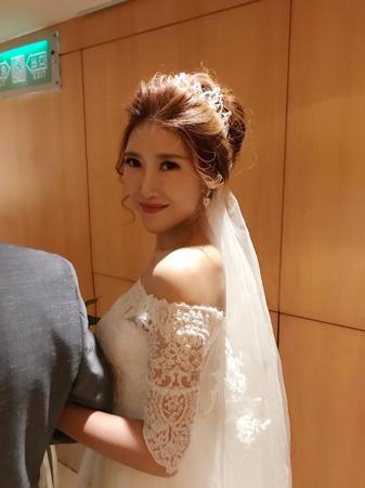 婚禮女神風