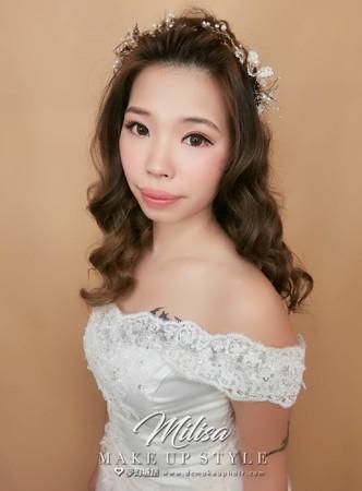 夢幻城堡彩妝造型-新秘妍庭-新娘造型創作