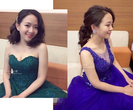 Cherry(短髮造型/短髮無縫接長)晚禮服造型