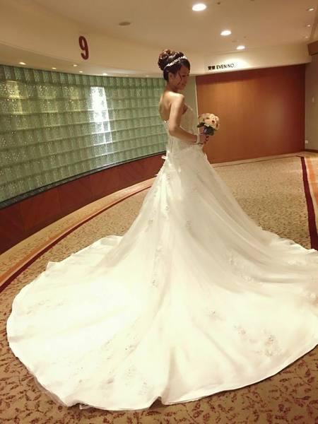 佩蓉結婚造型