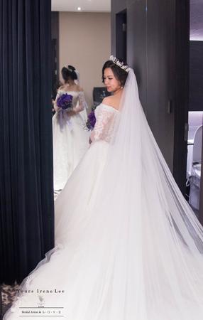 bride-菁/晶綺盛宴【新秘眉音】
