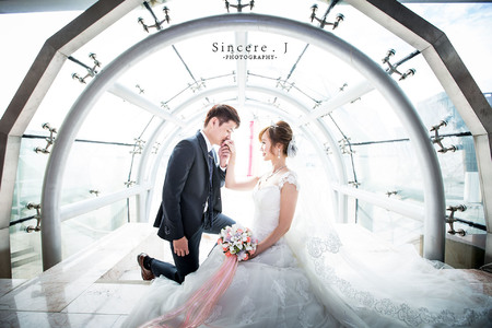 [婚禮攝影] Edward & Jiny  / 大直典華 PART I
