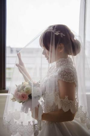 婉約小女人 婚宴現場造型 (日本新娘)